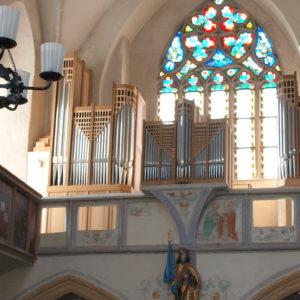 Pöggstall Orgelprospekt