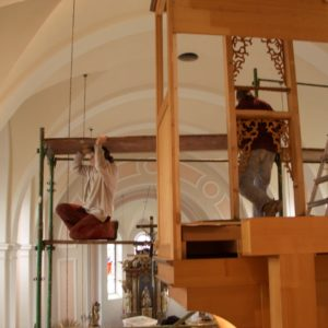 Julbach Umsetzung der Orgel