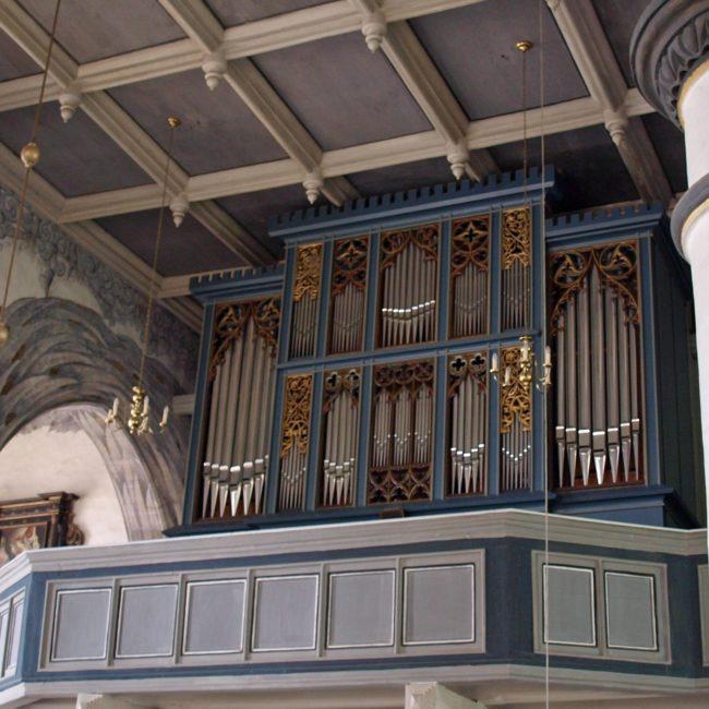 Orgelprospekt Eisfeld
