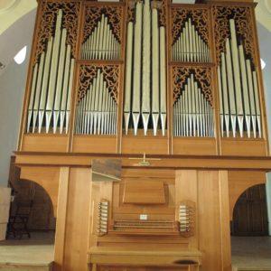 Julbach Orgelprospekt