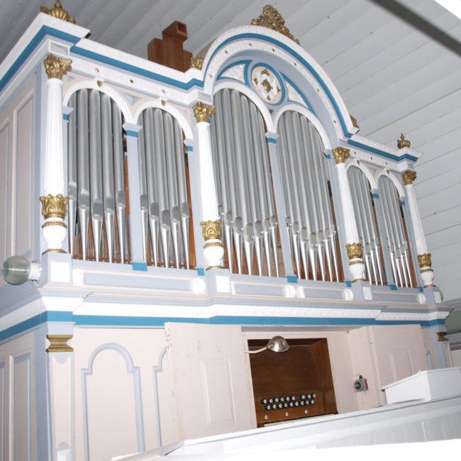 Orgelprospekt Oberbösa