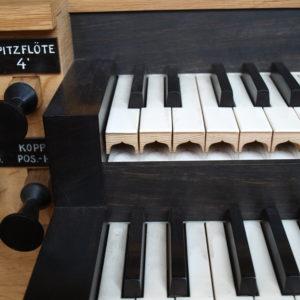 Pöggstall Orgelspieltisch