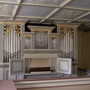Zschernitzsch Orgelprospekt
