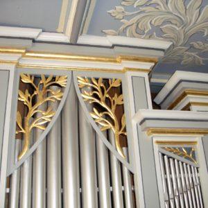 Zschernitzsch Orgelgehäuse